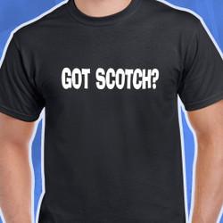 Got Scotch Black T-Shirt
