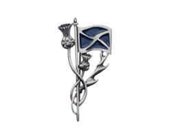 Celtic Knot Brooch 16