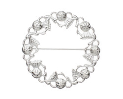 Celtic Knot Antique Brooch 17