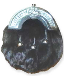 Black Evening Lion Crest