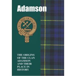 ADAMSON CLAN BOOK