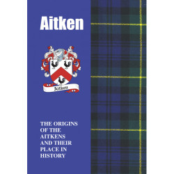 AITKEN CLAN FAMILY HISTORY BOOK