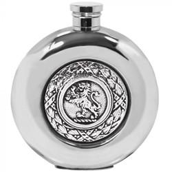 [SG263] 6oz Pewter Hip Flask