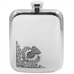 [TSF603] 6oz Pewter Hip Flask