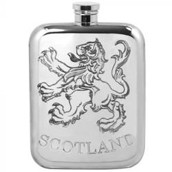 [TSF639] 6oz Pewter Hip Flask