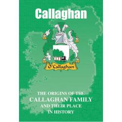 CALLAGHAN CLAN BOOK