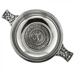 [PQ470] 3.5'' Celtic Pewter Quaich