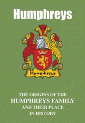 HUMPHREYS FAMILY BOOK