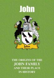 JOHN FAMILY BOOK