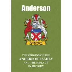 ANDERSON FAMILY BOOK