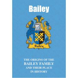 BAILEY FAMILY BOOK
