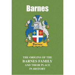 BARNES FAMILY BOOK