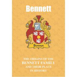 BENNETT FAMILY BOOK