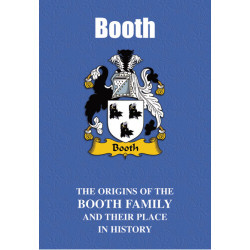 BOOTH FAMILY BOOK