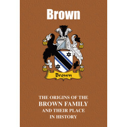 BROWN FAMILY BOOK