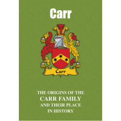 CARR FAMILY BOOK