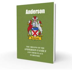 Anderson – English Surname