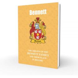 Bennett – English Surname