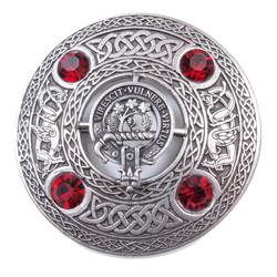 Plaid Brooch Scottish Clan Crest