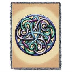 Celtic Grace Trinity Knot Blanket