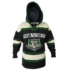 Guinness Green Hockey Style Hooded Jersey