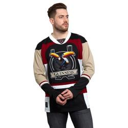 Guinness Toucan Burgandy Hockey Jersey