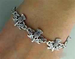 Scottish Toggle Bracelet