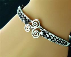 Triskele Celtic Brcelet