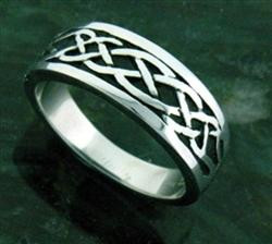 Stainless Celtic Knot Steel Ring