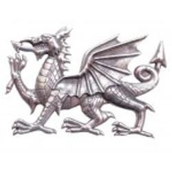 Welsh Dragon Cap Badge