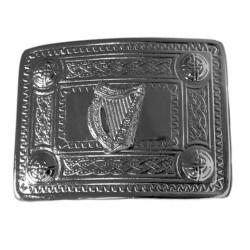 Irish Harp Belt Buckle