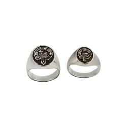 Scottish Clan Ring - Sterling Silver