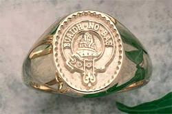 Scottish Clan Ring - Gold