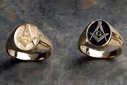 Masonic Ring Gold