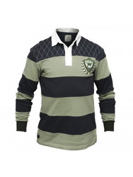 Green and Navy Rugby Jersey
