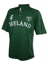 Green Piping Rugby Jersey