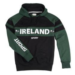 Ireland Green and Black Hoodie