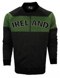 Ireland Green and Black Classic Retro Jacket