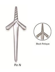 Spiral Kilt Pin