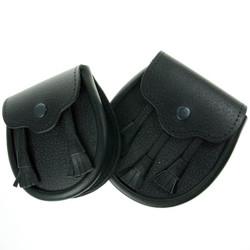 Childs Black Leather Sporran