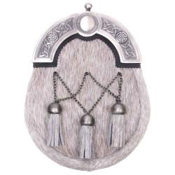 Natural Bovine Celtic Cross Chain