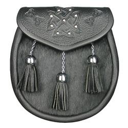 Celtic Patterned Semi Dress-Dark
