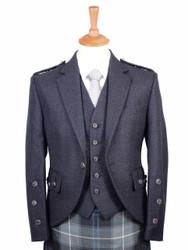Braemar  Charcoal Arrochar Jacket and Vest