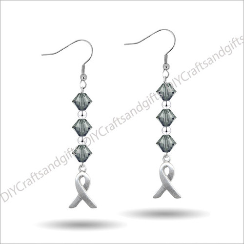 Beautiful Handmade Swarovski Crystal Earrings.Only available in Silver Plated and Sterling Silver at this time.