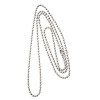 30 inch nickel plated steel metal neck chain