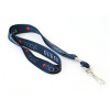 alternate view of 152141dx-nbal-ssjh lanyard printed in full color both sides 3/4 inch wide material