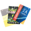 Custom printed SXL Extra Large Credentials examples