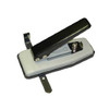 145076 stapler style desktop slot punch with guide for ID Cards