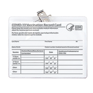 CDC Vaccination Record Card Holders