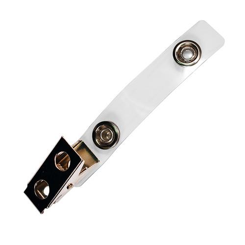 clear vinyl strap clip vsc badge clip